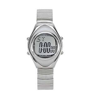 腕時計 ウォッチ アラームストップウォッチhablando reloj con 4 alarmas y hablando cronmetro