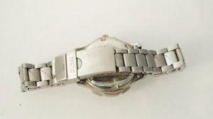 腕時計 ウォッチ レトロアラームブラックステンレススティールブレスレットguess mujer retro 1996 reloj waterpro pulsera de acero inoxidable negro