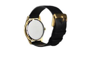 腕時計 ウォッチ シンボルブラックレザーストラップreloj de pulsera satnicas smbolos baphomet y el pentculo negro correa de cuero