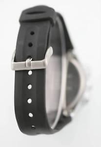 腕時計 ウォッチ ブラックウォッチラバーシルバーライトタイマーアラームarmitron reloj de hombre plata caucho negro fecha ligero alarma cronmetro 50m