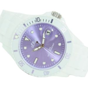 腕時計 ウォッチ オリバーアラームライラックs oliver seora reloj silkon reloj pulsera s hell lila metalizado so2714pq nuevo