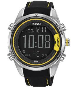 【送料無料】腕時計 ウォッチ アラームクロノグラフラリークロノ×pulsar hombre alarmchronograph rally chrono p5a007x1
