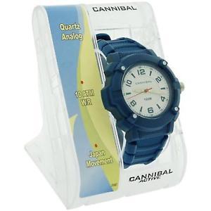 腕時計 ウォッチ カニバリアクティブプラスチックベルトcannibal activo nio esfera blanca luminoso manos reloj de correa plstico azul