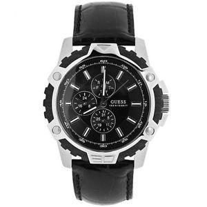 【送料無料】腕時計 ウォッチ ファイバアラームブラックペンダントguess w14558g1 fiber reloj hombre colgante negro