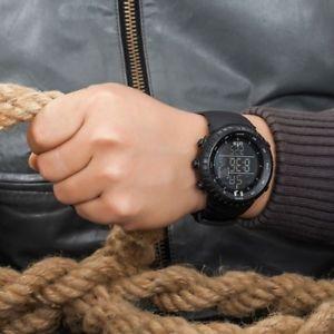 【送料無料】腕時計 ウォッチ スポーツデジタルメートルウォッチreloj pulsera relojes deportivos militar digital hombre 50 m impermeable reloj de lujo