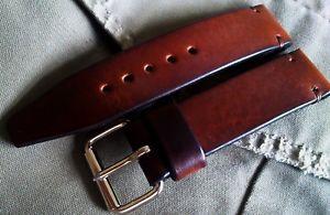 【送料無料】腕時計 ウォッチ クロックソリッドブラウンレザーストラップビンテージslido reloj correa de cuero marrn militar vintage 15, 16,17, 18, 19, 20, 22, 24mm