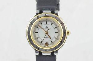 【送料無料】腕時計 ウォッチ モーリスロアカリプソレディスチールクオーツゴールドガラスmaurice lacroix calypso seora reloj acerooro quartz 25mm 75416 fondo de cristal