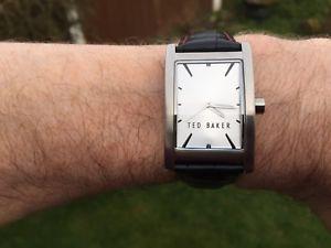 【送料無料】腕時計 ウォッチ ストラップテッドベイカーnuevo para hombres reloj con correa de cuero ted baker