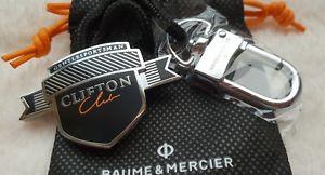 【送料無料】腕時計 ウォッチ ボーメメルシエクリフトンクラブキーリングブランドbaume mercier clifton club keyring amp; en bolsa de regalo a estrenar