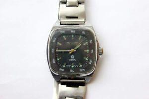 【送料無料】腕時計 ウォッチ ソполетアラームクオーツブレスレットソsoviet old rare reloj poljot полет reloj cuarzo brazalete made urss