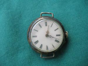 【送料無料】腕時計 ウォッチ ハンドシルバーreloj de pulsera viejasmanoplata