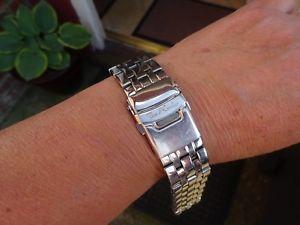 【送料無料】腕時計 ウォッチ ジョーロデオベルトgenuine joe rodeo hombres reloj correa de metal plateado