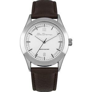 【送料無料】腕時計 ウォッチ ナイツブラウンベルトベンシャーマンアラームcaballeros ben sherman reloj en marrn correa bs158