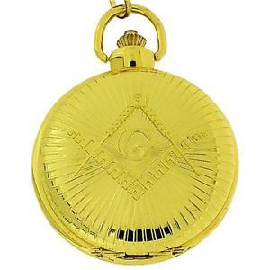 【送料無料】腕時計 ウォッチ トーンジャンボサイズポケットウォッチインチチェーンboxx caballeros masnico oro tono tamao jumbo reloj de bolsillo de 12 pulgadas cadena boxx270