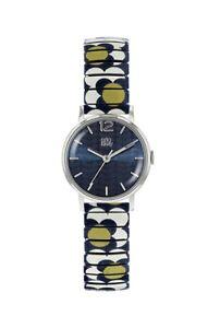 【送料無料】腕時計 ウォッチ フラワーレディースストラップポップウォッチorla kiely damas flor pop reloj con correa de cuero ok4071