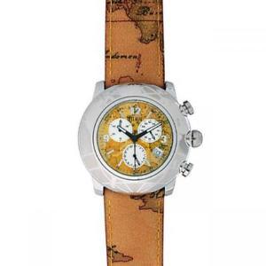 腕時計 ウォッチ マティーニクラッセヴクロノペレシルバーorologio uomo alviero martini 1a classe pch 781bvu chrono pelle silver