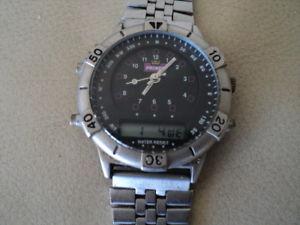 【送料無料】腕時計 ウォッチ ビンテージアナログプリンスデジタルクォーツvintage prncipe analgico amp; digital cuarzo reloj de hombre