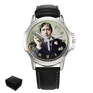腕時計 ウォッチ オスカーワイルドマンナイツreloj de pulsera oscar wilde escritor poeta caballeros hombre regalo grabado