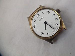 【送料無料】腕時計 ウォッチ アラームマニュアルコレクションuna multa de coleccin de caballeros ruhla reloj de viento manual