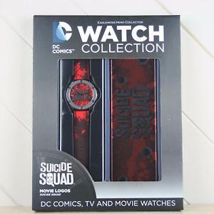 【送料無料】腕時計 ウォッチ コミックコレクションクロックムービーeaglemoss dc comics reloj coleccin pelcula escuadrn de suicidio