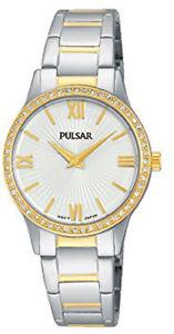 【送料無料】腕時計 ウォッチ レディーストーン×reloj de pulsera pulsar damas dos tonos pm2168x1pnp
