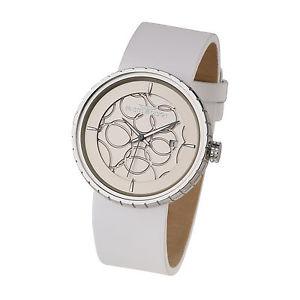 【送料無料】腕時計 ウォッチ ステンレススチールブレスレットernstes design mujerreloj de pulsera acero inox cuero u005wh aprox 40 mm