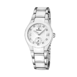 腕時計 ウォッチ テンポセラミックセラミックorologio solo tempo donna festina ceramic f165882 acciaio ceramica cristalli