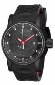 【送料無料】腕時計 ウォッチ ラリーブラックステンレススチールウォッチ18213invicta hombres s1 rally automtico 100m acero inoxidable negro reloj de