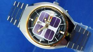 【送料無料】腕時計 ウォッチ ビンテージレトロスイスルクスガラスvintage retro swiss reloj automtico cristal tressa lux 1970s nos cal como 5206