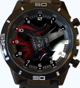 【送料無料】腕時計 ウォッチ エレキギタースポーツシリーズreloj pulsera guitarra elctrica nuevo deportivo gt series