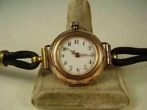 【送料無料】腕時計 ウォッチ アンティークゴールドantiguedad 333 gold reloj de pulsera para 1910