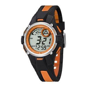 【送料無料】腕時計 ウォッチ デジタルカリプソオレンジreloj calypso digital negro y naranja para nia o nio k55584