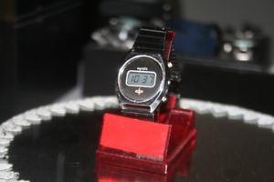 【送料無料】腕時計 ウォッチ ビンテージレディースデジタルスイスegosta 1971er vintage seores reloj de pulsera muy temprana digital lcd swiss made