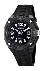 【送料無料】腕時計 ウォッチ カリプソアラームマニュアルアナログクロックブラックライトcalypso by festina reloj pulsera reloj hombre reloj analgico luz negra 10 atm k56346