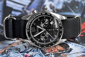 【送料無料】腕時計 ウォッチ ベルトreloj pulsera de cuarzo para hombre de trabajo pequeas esferas negro reloj correa nato luna