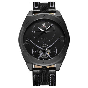 【送料無料】腕時計 ウォッチ カラフルユニークデザインデュアルタイムクオーツワットウォッチweide uv1703 colorful unique design men wrist watch dual time display quartz wat