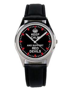 【送料無料】腕時計 ウォッチ レッドデビルズファンアクセサリーマーケティングアラームred devils regalo fan artculo accesorios mercadotecnia reloj b2111