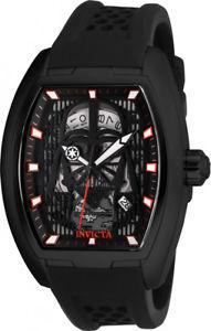 【送料無料】腕時計 ウォッチ スターウォーズブラックステンレスinvicta hombre star wars automtico 100m acero inoxidable negro reloj de