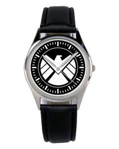 【送料無料】腕時計 ウォッチ ビンテージロゴアラームvintage shield logotipo motivo regalo reloj b1240