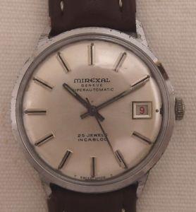【送料無料】腕時計 ウォッチ ヴィンテージmirexal automatik reloj hombre reloj de pulsera vintage 60 aos l
