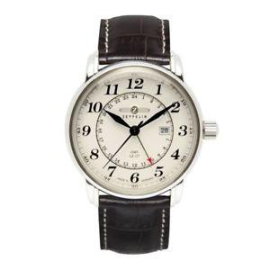 【送料無料】腕時計 ウォッチ ツェッペリンクオーツベージュzeppelin lz127 graf zeppelin cuarzo, 76425, gmt, beige