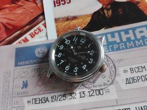【送料無料】腕時計 ウォッチ アラームヴォストークロシアヴォストークreloj vostok  russian vostok watch k43 non working