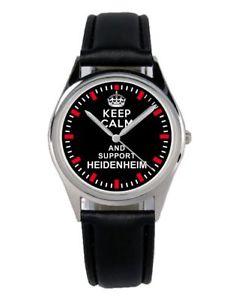 【送料無料】腕時計 ウォッチ ファンアクセサリマーケティングアラームkeep heidenheim regalo fan artculo accesorios mercadotecnia reloj b1529