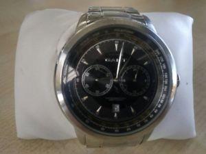 【送料無料】腕時計 ウォッチ ステンレススチールアラームgant reloj hombre de acero inoxidable