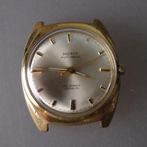 【送料無料】腕時計 ウォッチ メリットロバートreloj de pulsera caballero merit robert kauderer automatic a partir depara 1960 51110