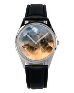 【送料無料】腕時計 ウォッチ ウルフファンアクセサリマーケティングアラームオオカミwolf lobos regalo fan artculo accesorios mercadotecnia reloj b2804