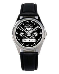 【送料無料】腕時計 ウォッチ バイカーファンマーケティングアクセサリアラームintruder vs800 vs1400 biker regalo fan artculo accesorios mercadotecnia reloj b1519