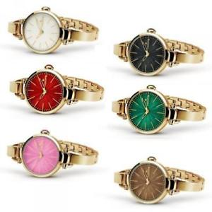 【送料無料】腕時計 ウォッチ フープorologio donna hoops bjolie ros bracciale acciaio colorato