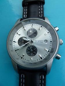 【送料無料】腕時計 ウォッチ クォーツクロノグラフバッテリークロノウォッチbergmann cuarzo reloj nueva batera quartzuhr chronograph chrono 2006 impecable