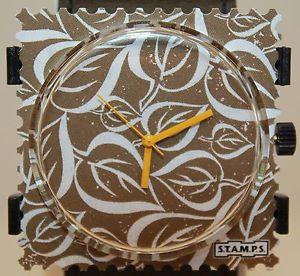 【送料無料】腕時計 ウォッチ スタンプstamps leaves 104288 nuevo en su embalaje originalstamps